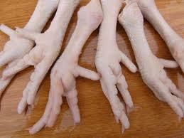 Como cocinar patas de pollo
