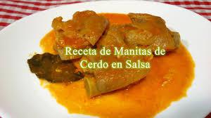 De cerdo en salsa