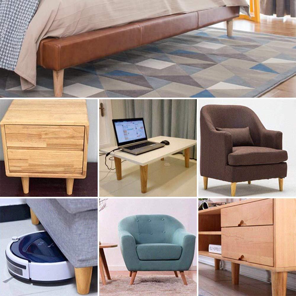patas-De madera para muebles, mesas