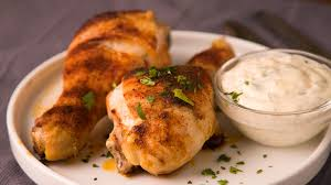 De pollo en salsa