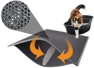 Pieviev-Alfombra-Impermeable-Autolimpiable-Limpiar-Gris-almohadillas-de-gato-patas-de-gato